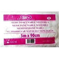 Medizinische Mullbinde 500cm X 90cm 100% Baumwolle preisvergleich bei billige-tabletten.eu