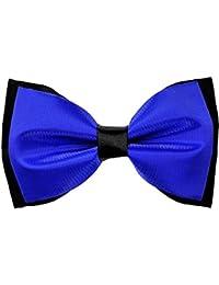 Royal Blue Solid Bowtie For Men