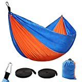 iOutdoor Products Single & Double Camping Hammock Portable Lightweight Nylon Best Parachute Hammock
