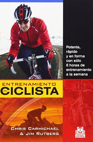 Entrenamiento del ciclista (Deportes) por Chris Carmichael