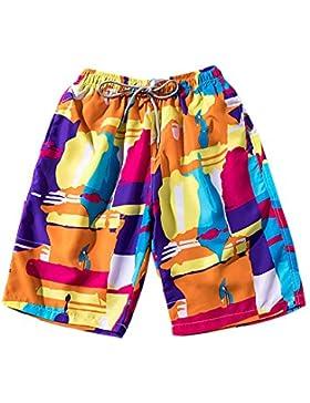 DianShaoA Bañador De Natación para Hombre Suelto Deporte Casual Pantalones Cortos De Playa Secado Rápido