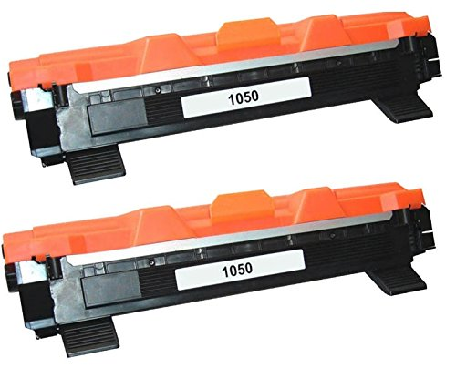 Prestige Cartridge TN1050 Kit 2 Toner compatibile per Stampanti Brother DCP/HL/MFC, nero, 2 Pezzi