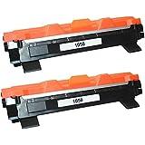 Prestige Cartridge TN1050 Pack de 2 Cartouches de Toner compatible avec Imprimantes Brother DCP/HL/MFC
