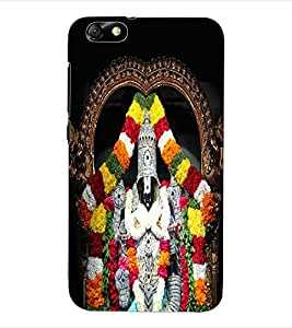 ColourCraft Lord Venkateswara Back Case Cover for HUAWEI HONOR 4X