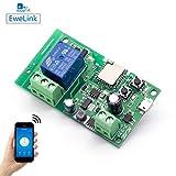 Módulo Relé Wifi funziona con Alexa/Google Home/Sonoff/Ewelink/IFTTT, Interruttore WiFi per...