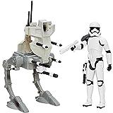 Hasbro héroe Star Wars Sergent Stormtrooper Anti disturbio con Sonido vehículo transformable