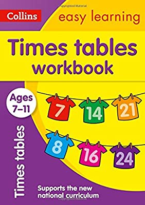 Times Tables Workbook Ages 7-11: New Edition (Collins Easy Learning KS2) from Collins