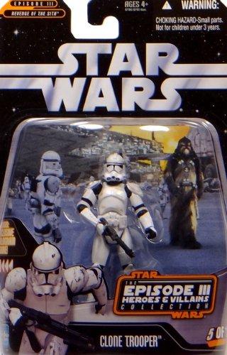 Clone Trooper Episode III Heroes & Villains - Star Wars The Saga Collection 2006 von Hasbro