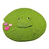 Yeahibaby Babydecke und Hut Set Frosch Mütze und Lotusblatt Decke Kostüm Fotografie Prop