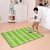 Samber Baby Fußball Teppich Fussballteppich Kinderzimmer Kinder Kriechende Matte 100*130cm