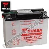 Batería Yuasa SY50de n18l de AT, 12V/20ah (Dimensiones: 206x 91x 163)