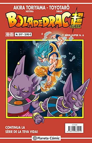 Bola de Drac Sèrie vermella nº 217 (Manga Shonen) por Akira Toriyama
