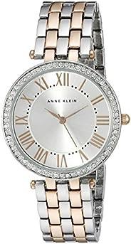 Anne Klein Women's Silver Dial Metal Band Watch - AK2231