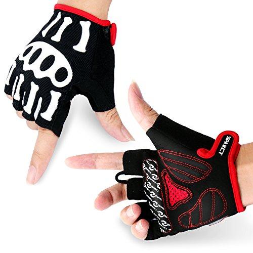 SPAKCT Radsport Handschuhe, Fahrradhandschuhe für Rennrad, Mountainbike, Bergsteigen, Sport - Atmungsaktive und Stoßfeste, Idea für Damen und Herren