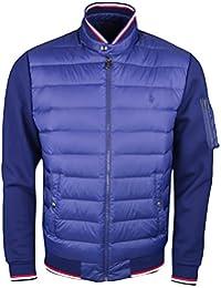 Ralph Lauren Men's Quilted Track Jacket