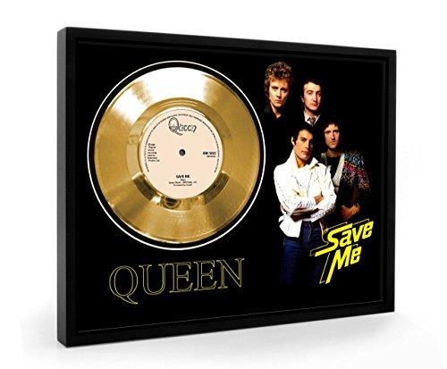 Queen Save Me Framed Disco de Oro Display Vinyl (C1)