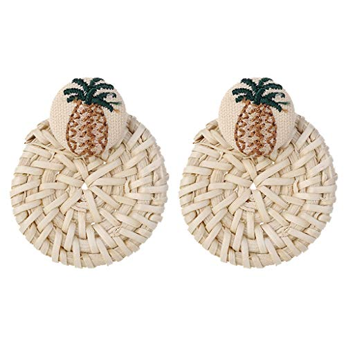 LHWY Damen Persönlichkeit kreative geometrische unregelmäßig geformte Perlen Ohrringe Ladie Schmuck Geschenk
