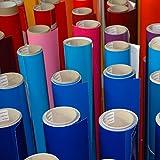 5 Meter Premium Möbelfolie und Bastelfolie Hellgrau Hochglanz 32 Farben - verschiedene Größen - Küchenfolie - Klebefolie zum Basteln, für Möbel, Türen selbstklebende Folie Küche