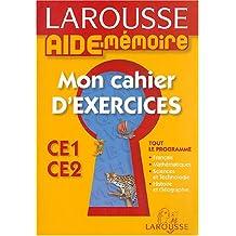 Mon cahier d'exercices CE1-CE2