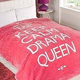 Dreamscene Drama Queen, Colore Rosa, King, 200x 240cm