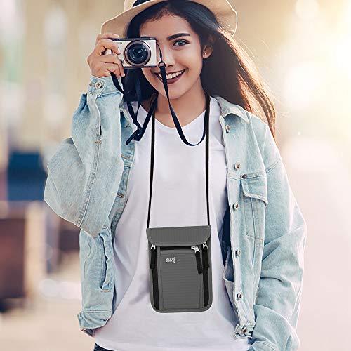 Zoom IMG-3 keafols portadocumenti da collo borsello