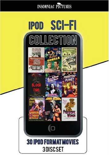 30 ipod / iphone ready SCI- FI Collection - 3 DVDs Iii Ipod