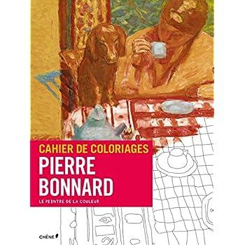 Cahier de coloriages Pierre Bonnard