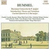 Hummel:Bassoon Concerto in F major