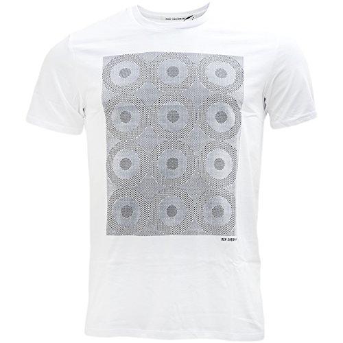 Ben Sherman -  T-shirt - T-shirt  - Maniche corte  - Uomo White X-Large