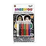 Best Snazaroo pinturas de la cara - Snazaroo - Barras de pintura facial Halloween, set Review