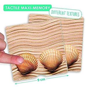 Akros 20411tattile Maxi-Memory Natura i Sensi