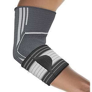 bonmedico Kubo Elastische Ellenbogen-Bandage, Gelenk-Bandage für Damen & Herren