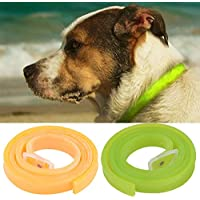 Herbal Repellent Flea Collar for Dog Large and Medium,Dog Product for Ticks and Fleas Prevention,Adjustable,Long Lasting,Waterproof,Nice Smell (Green)