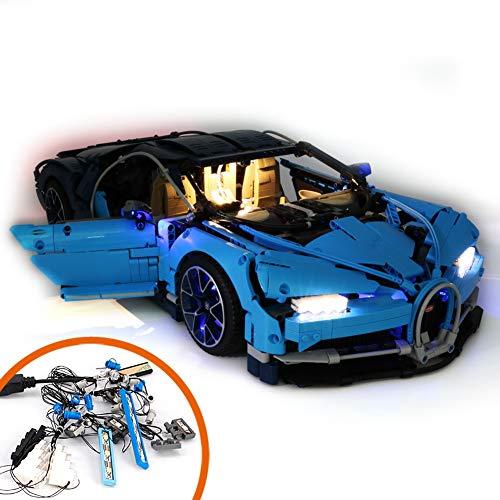 Cikuso Licht Anzug für (Bugatti Chiron) Geb?Ude Block Modell - Led Licht Kit