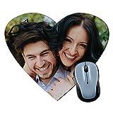 Lolapix Personalisierte Herz Mauspad mit Ihrem Foto