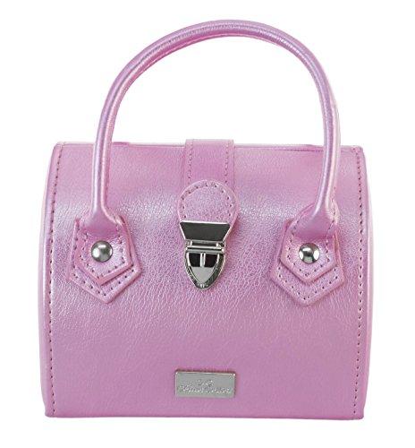 Céline Cellier Travel Jewelry- and Cosmetic-Box CC6108PA Beauty Case da viaggio, 19 cm, Rosa