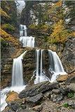 Poster 60 x 90 cm: Kuhfluchtwasserfall in Farchant bei