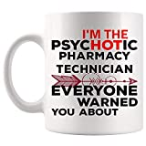 Proud Hot Pharmacy Technician Gift for Mug Coffee Cup Mugs | Co-worker Boss Employee employer | Certified Technicians Pharmacy Technicians pharmacist Assistant