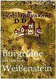 Burgruine und Herrschaft Weißenstein: Dokumentation der Geschichte der Burg Weißenstein - Harald Stark