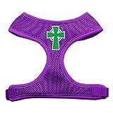 Mirage Pet Products Hundegeschirr mit keltischem Kreuz, weich, Größe M, Violett