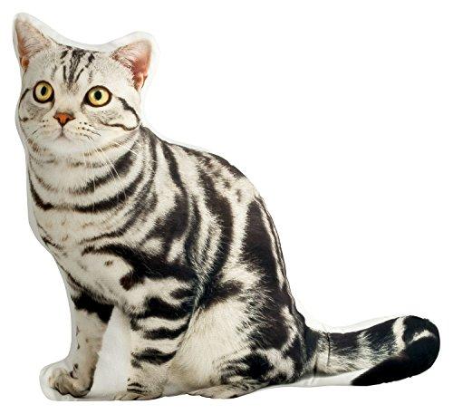 Foto de naturgetreues un cómodo cojín cojín (Adorno Gatos en forma de gato grande 52x 50cm