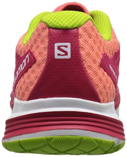 Salomon - Sense Pulse, Scarpe da corsa Donna Rosso (Rot (Papaya-B/Lotus Pink/Granny Green))