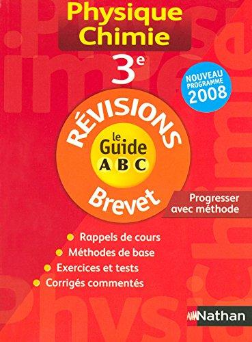 GUIDE ABC BREVET PHYS CHIMIE par CHARLES DESCLOUX