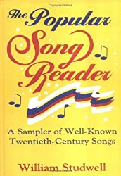 The Popular Song Reader: A Sampler of Well-Known Twentieth-Century Songs (Haworth Popular Culture) by William E Studwell (1994-08-11)