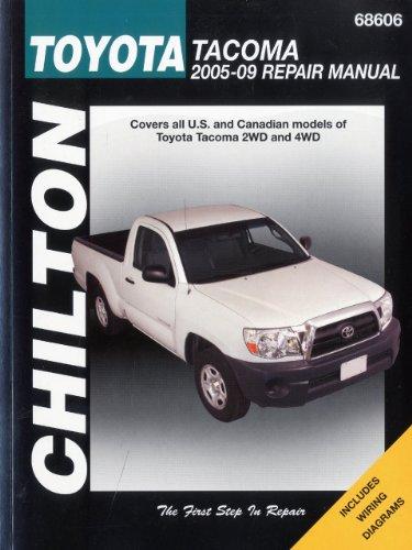 toyota-tacoma-2005-09-repair-manual-chiltons-total-car-care-repair-manuals