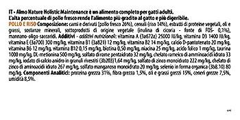 Almo Nature - Holistic - Nourriture pour chat - Poulet / Riz - 1 x 12kg