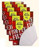 Wei? 10 Box-Set # 11001 [1-2] Leute f?r 50 St?ck Kalita 101 Filterkaffeefilter aus Papier (Japan-Import)