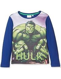 Marvel Jungen Langarmshirt Avengers Muscle Team