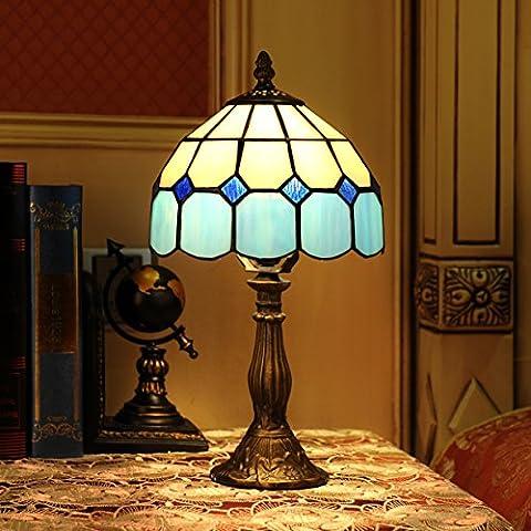 Lampe Tiffany - Gweat 8 Pouces Méditerranéenne De Style Tiffany