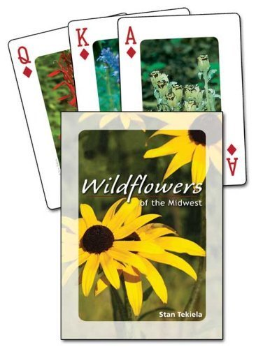 Wildflowers of the Midwest Playing Cards by Stan Tekiela (2012-03-15) (Wildflower Midwest)